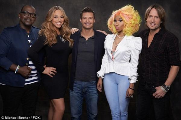 Nicki Minaj and Mariah Carey fight on American Idol set