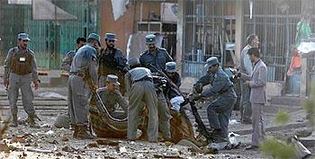 Five killed in Southern Afghanistan blast