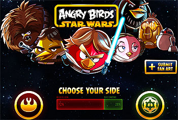Angry Birds 'Star Wars' to debut on Windows 8