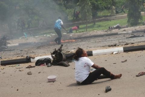 Explosions and gunshots rock Maiduguri