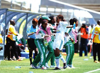 AWC 2012: Super Falcons devour indomitable Lionesses of Cameroon