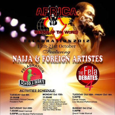 Africa stands up for Felabration