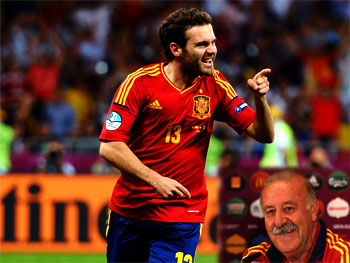 Mata vows to get back Spanish squad shirt