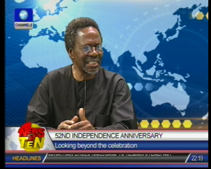 At 52 Nigeria is experiencing more motion than movement, says University don