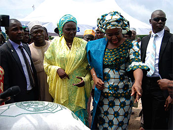 Hoard grains at your own peril, FCT Minister of State tells farmers