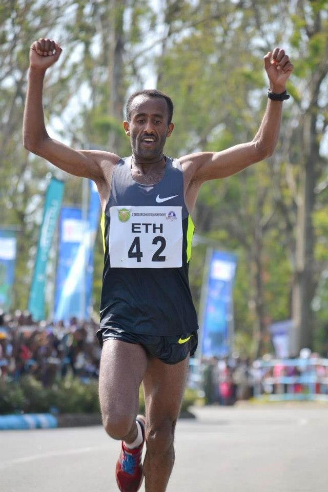 Ethiopia's Abebe Dinkesa reclaims Obudu mountain race title