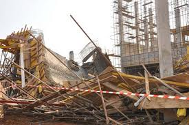 Uncompleted 3-storey building collapses in Owerri, worker trapped inside