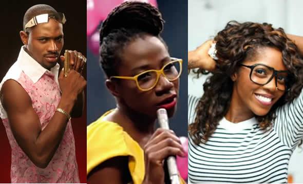 D'banj, Asa, Tiwa Savage battle for FAB awards
