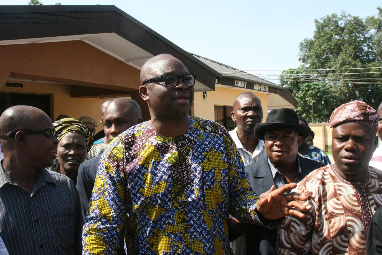 EFCC re-arraigns Ayo Fayose for embezzling N1.2 billion