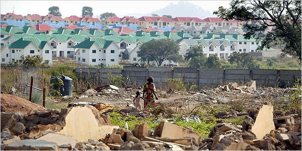 Jonathan pledges to address Nigeria's housing deficit