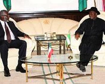 Sudan/South Sudan Faceoff: Jonathan backs peaceful resolution