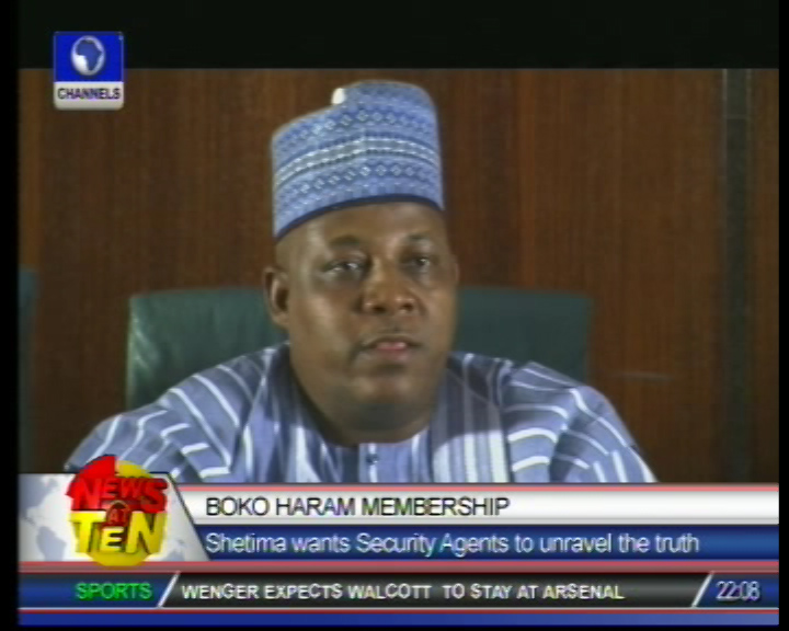 Addressing Boko Haram problem is not my responsibility – Borno governor
