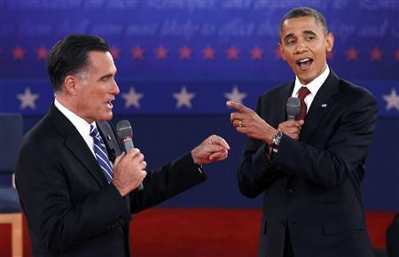 Obama and Romney in deadlock for final push