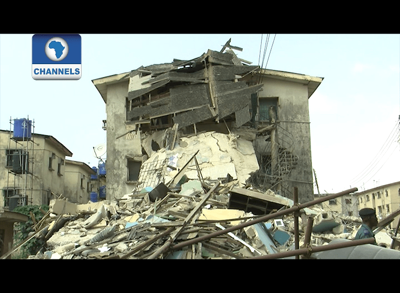 VIDEO: Two sisters killed in another building collapse in Lagos