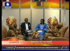 CAC Good Women Choir on Sunrise…waxing strong 30years after