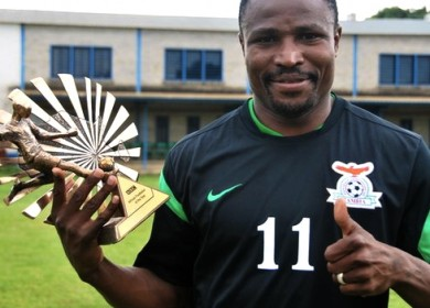 Christopher Katongo Wins BBC African Footballer Of The Year