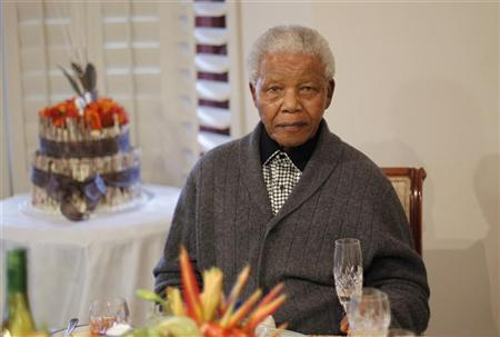 South Africa's Mandela Back In hospital With Lung Infection