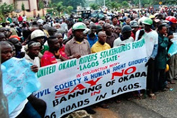 Police Foils Protest Against New Lagos Traffic Law