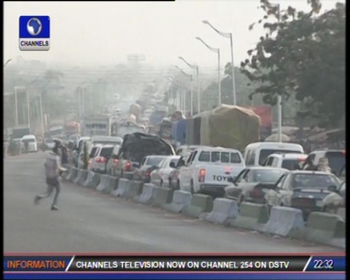 Christmas: Travellers Trek To Avoid Asaba-Onitsha Expressway Traffic