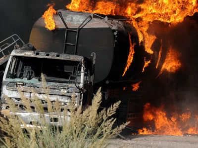 Boxing Day Tragedy: Fuel Tanker Explosion Kills One In Edo