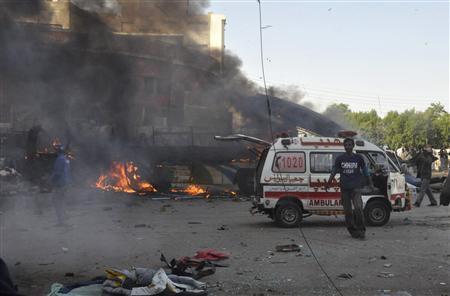 Blast Kills Six in Pakistani, Injures 48