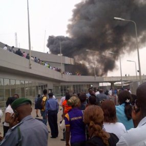 Welders Caused Fire Outbreak At Murtala Muhammed International Airport