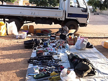 JTF Recovers Arms And Ammunitions In Yobe State, Kills One