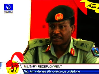 Nigerian Army denies ethno-religious undertone in Jaji's redeployment