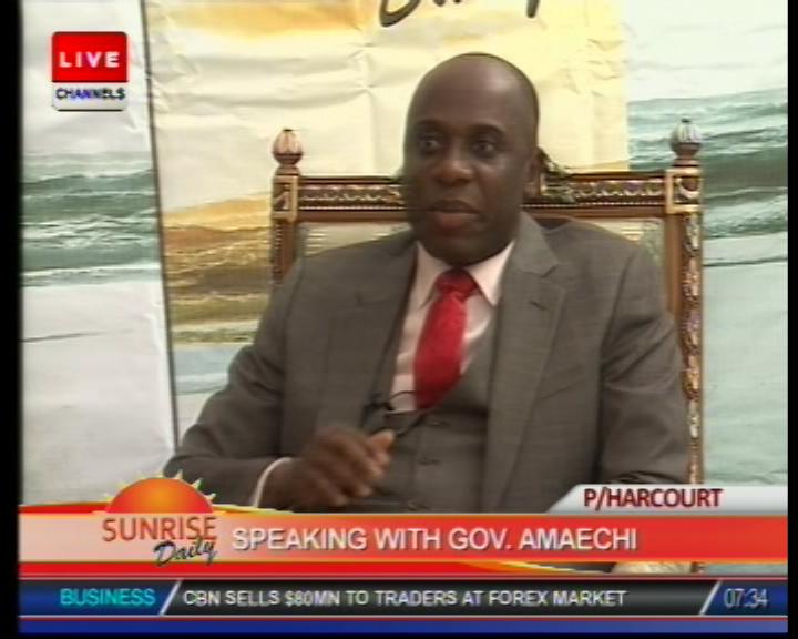 OPINION: Governor Amaechi and Politicians' Desperation