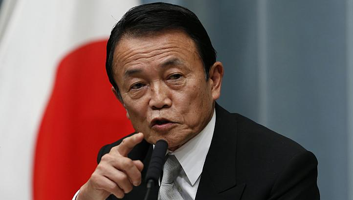Japan Gets New Finance Chief