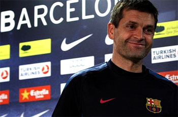 Barca In Search Of Interim Manager After Vilanova Health Scare