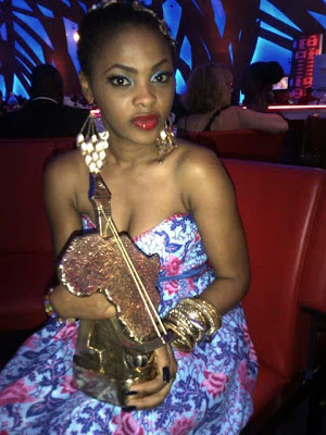 Davido and Chidinma win big at KORA Awards 2012