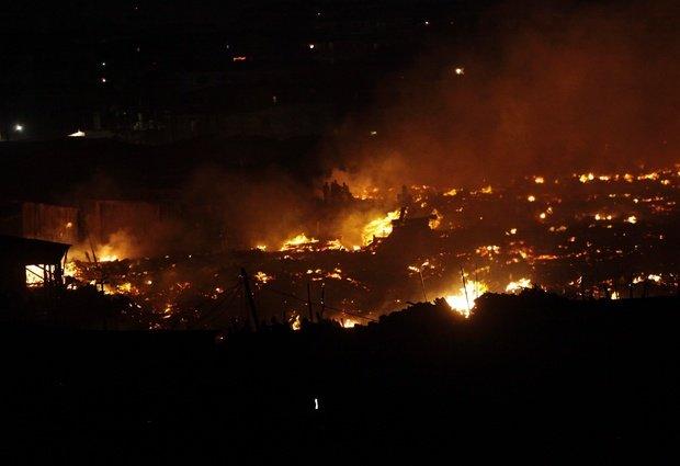 Fire Destroys Dozens Of Buildings In Ebute Metta