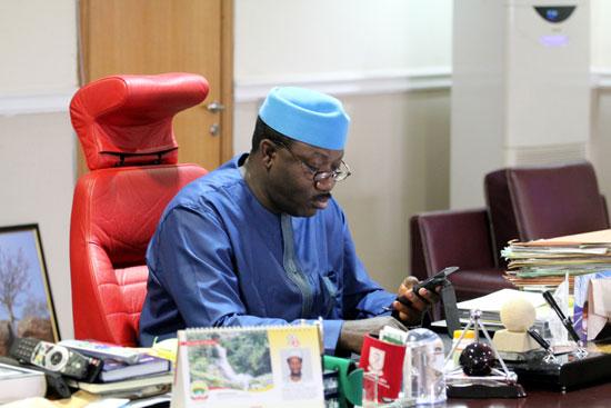 Fayemi Sacks His Cabinet