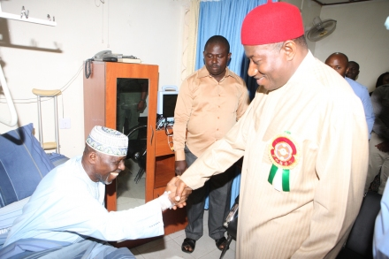 Injured Kogi Governor Receives Treatment At Home