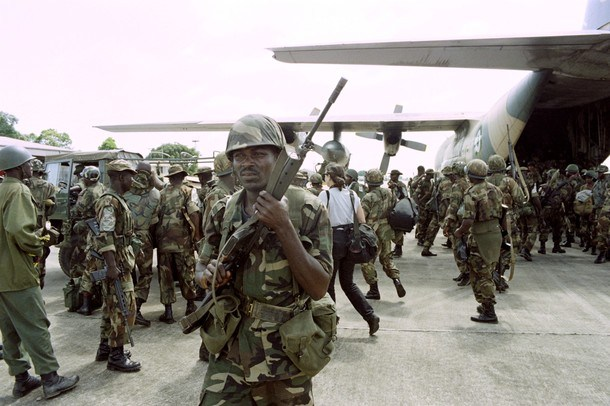 Nigerian Military Contingent Depart To Mali