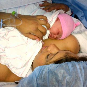 Peter Okoye And Lola Welcome Baby Girl