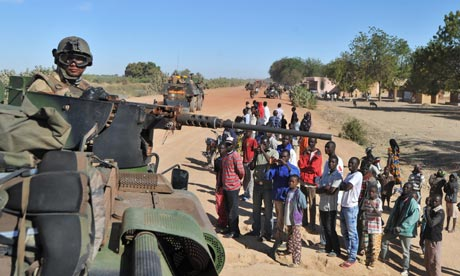 French Troops Re-Claim Malian Town