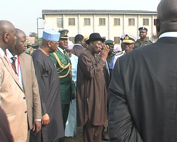 Jonathan visits Police College