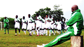 Afcon 2013: Super Eagles Hitching For Action