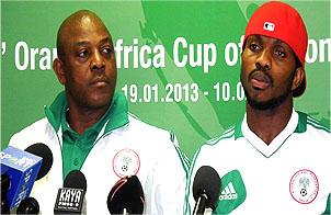 Keshi Unsure Of Yobo, Moses Over Ethiopia Clash