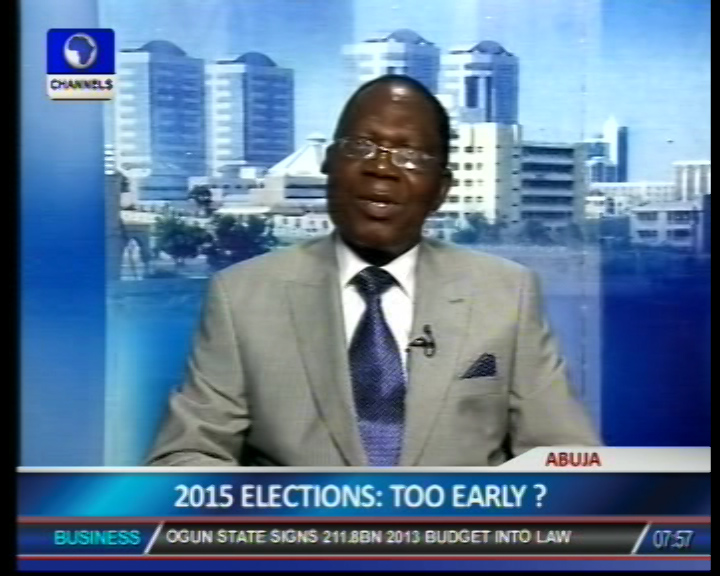 Controversy Over Jonathan's Campaign Posters Is Unnecessary – Sogolo