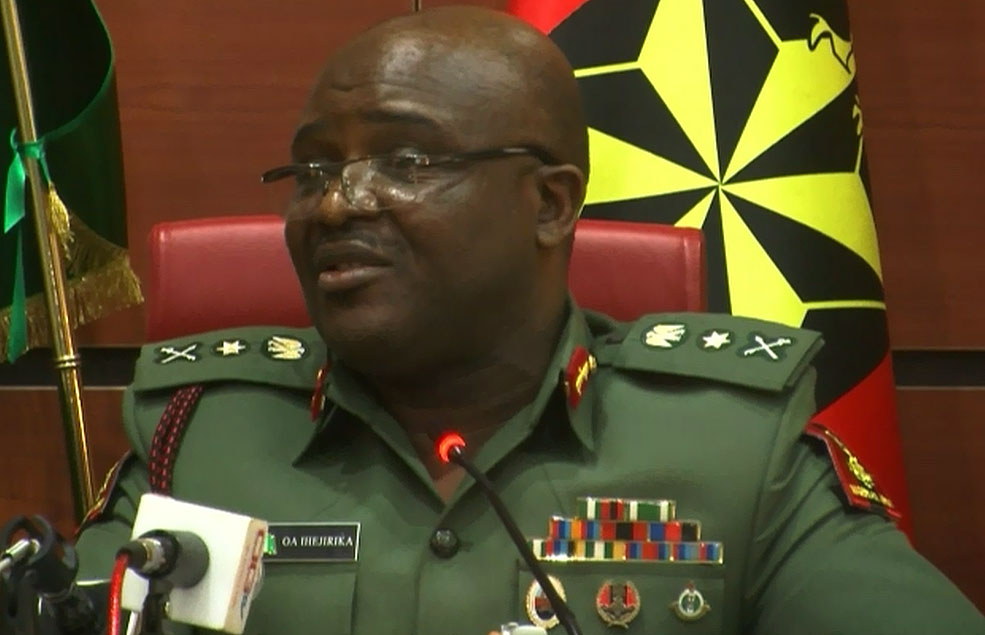 Army Chief Berates Take-Over of Military Formations By Boko Haram