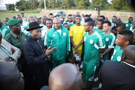 Federal Government Honours Super Eagles