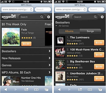Amazon Launches Cloud Player App For iPad And iPad Mini