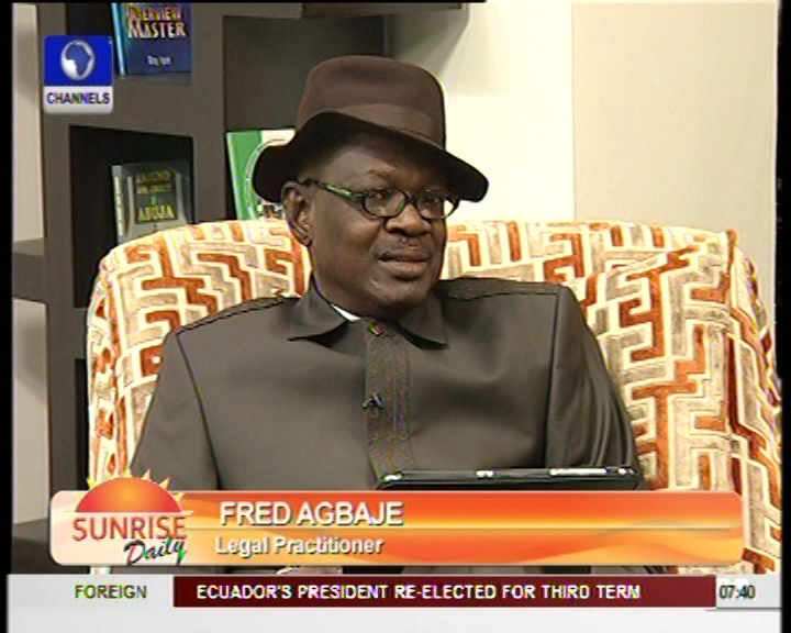 It Is Now Illegal For Jonathan To Sign 2013 Budget – Fred Agbaje