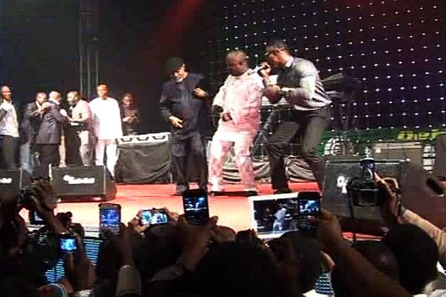 Uduaghan Honours Fellow Doctors with Kukere Dance