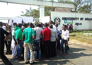 UniAbuja Students Disrupt Examinations