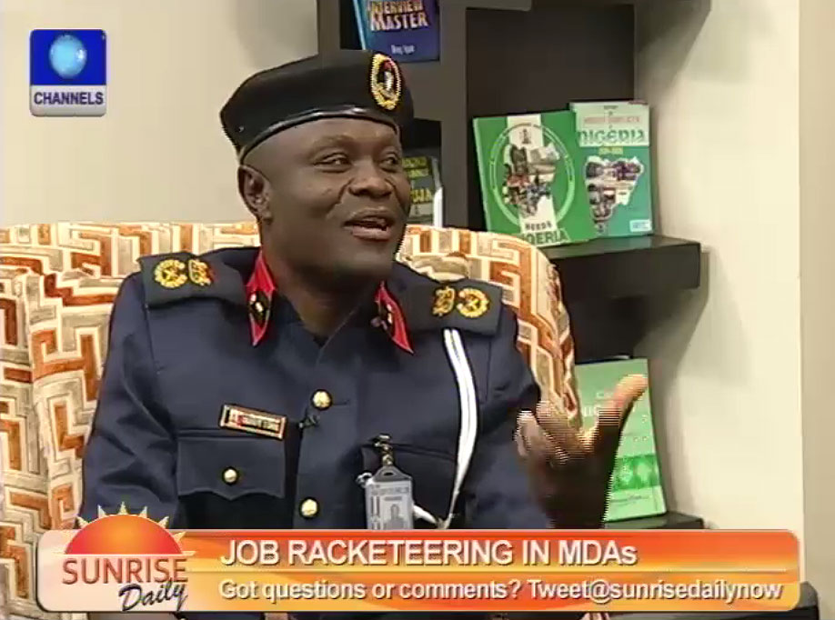 Employment Scam Can't Happen In Civil Defence – Lagos Commandant