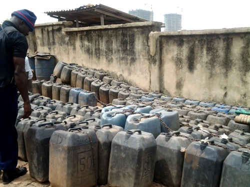 NSCDC, DPR Arrest 11 Illegal Petrol Marketers In Abuja